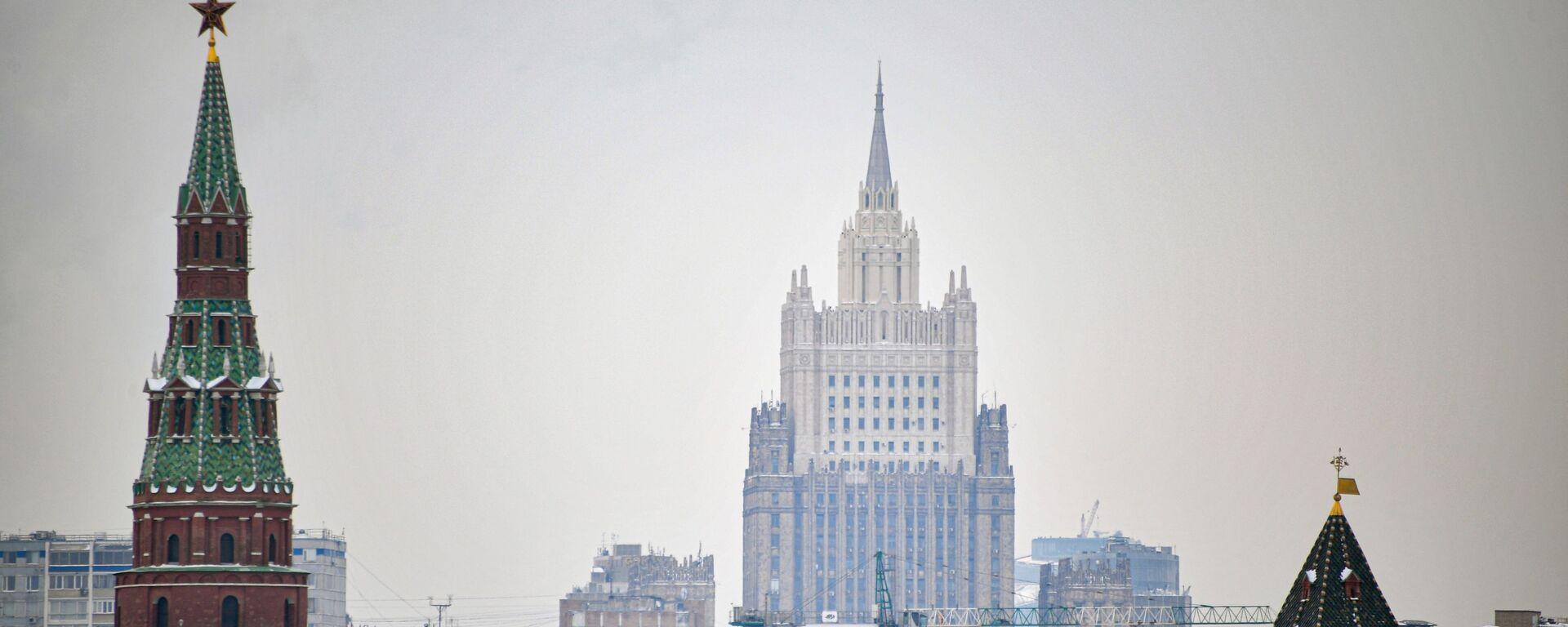 Москва, Кремљ, зграда Министарства спољних послова Русије - Sputnik Србија, 1920, 02.03.2021