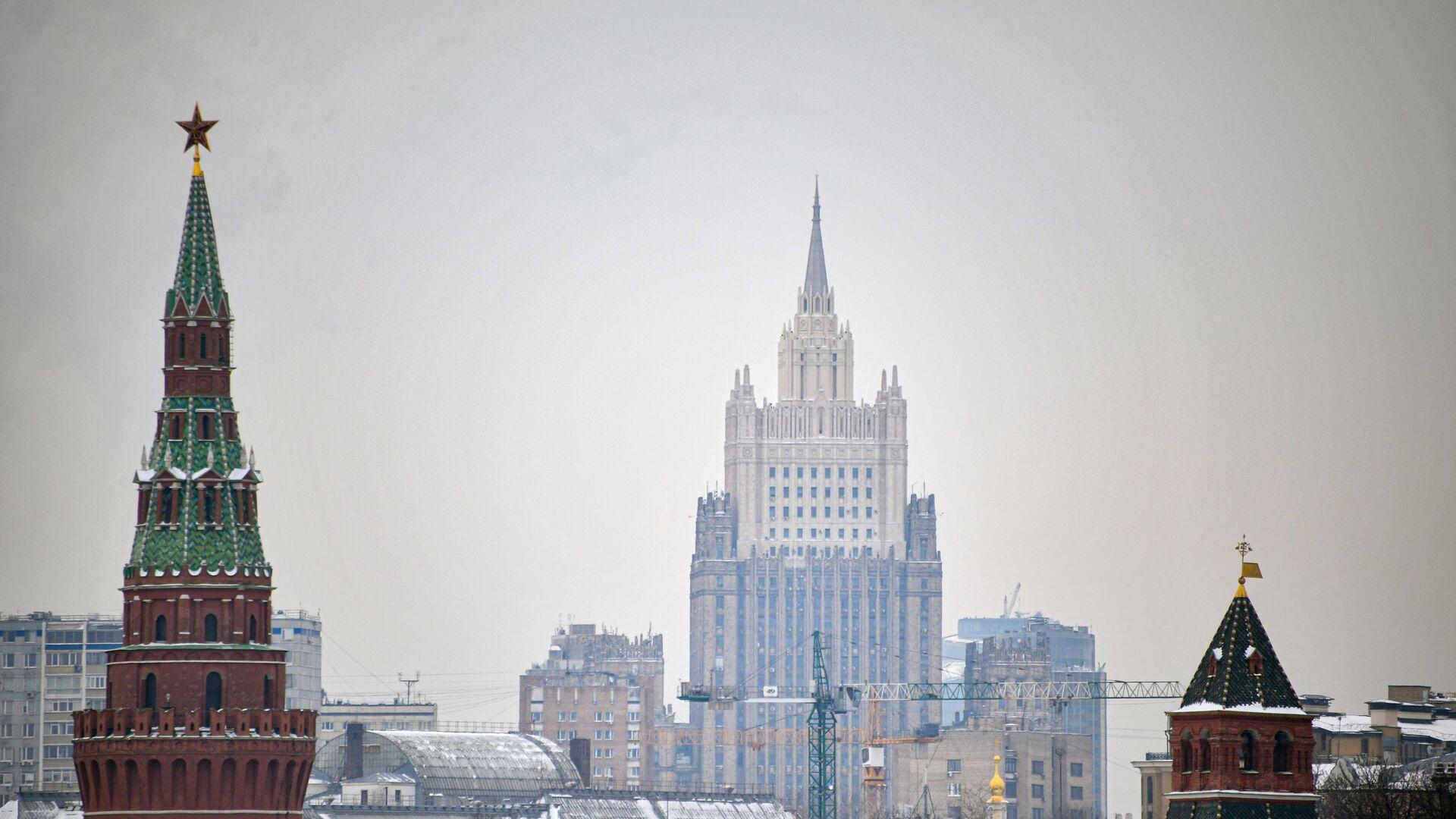 Москва, Кремљ, зграда Министарства спољних послова Русије - Sputnik Србија, 1920, 22.09.2021