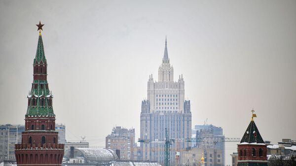 Москва, Кремљ, зграда Министарства спољних послова Русије - Sputnik Србија