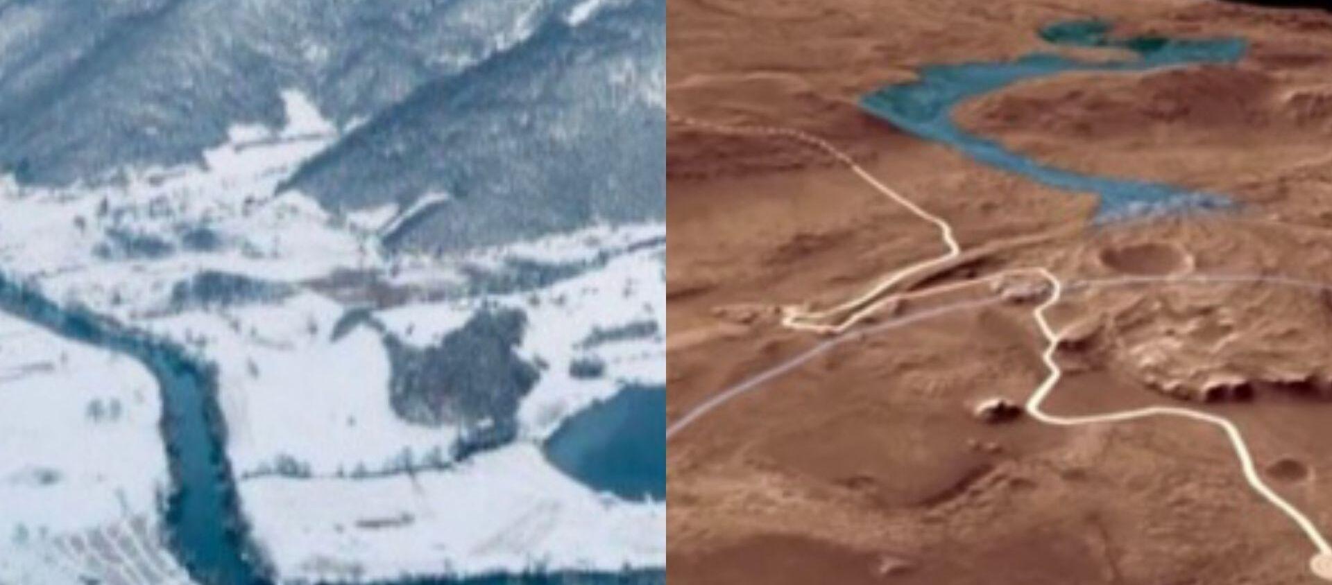 Сличност је запањујућа - Језеру у Републици Српској и Језеро на Марсу - Sputnik Србија, 1920, 24.02.2021