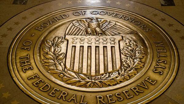 Лого америчких Федералних резерви. - Sputnik Србија