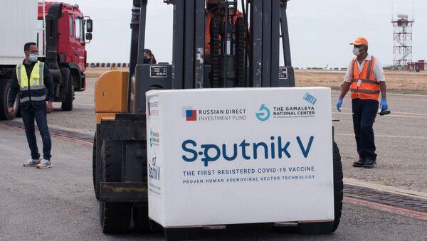 Пошиљка вакцина против вируса корона Спутњик Ве - Sputnik Србија