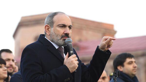 Премијер Јерменије Никол Пашињан - Sputnik Србија