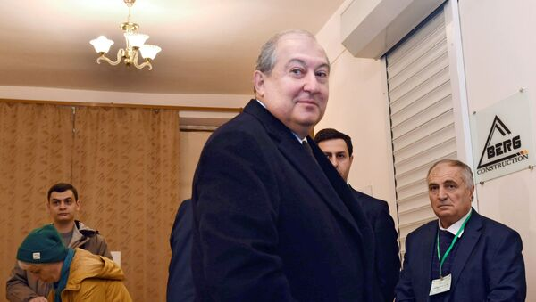 Председник Јерменије Армен Саркисјан - Sputnik Србија