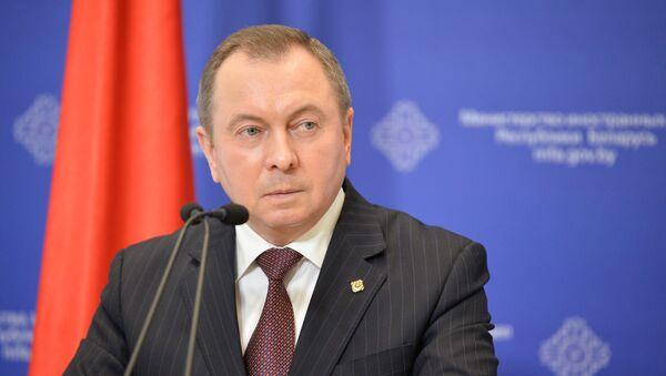 Министар спољних послова Белорусије Владимир Макеј - Sputnik Србија