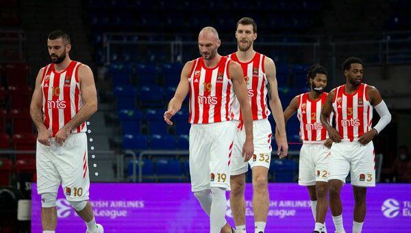 KK Crvena zvezda na meču protiv Baskonije u 26. kolu Evrolige - Sputnik Srbija