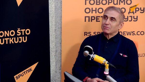 Proslavljeni srpski fudbaler i trener Boško Đurovski - Sputnik Srbija