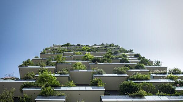 Балкони са зеленилом - Sputnik Србија
