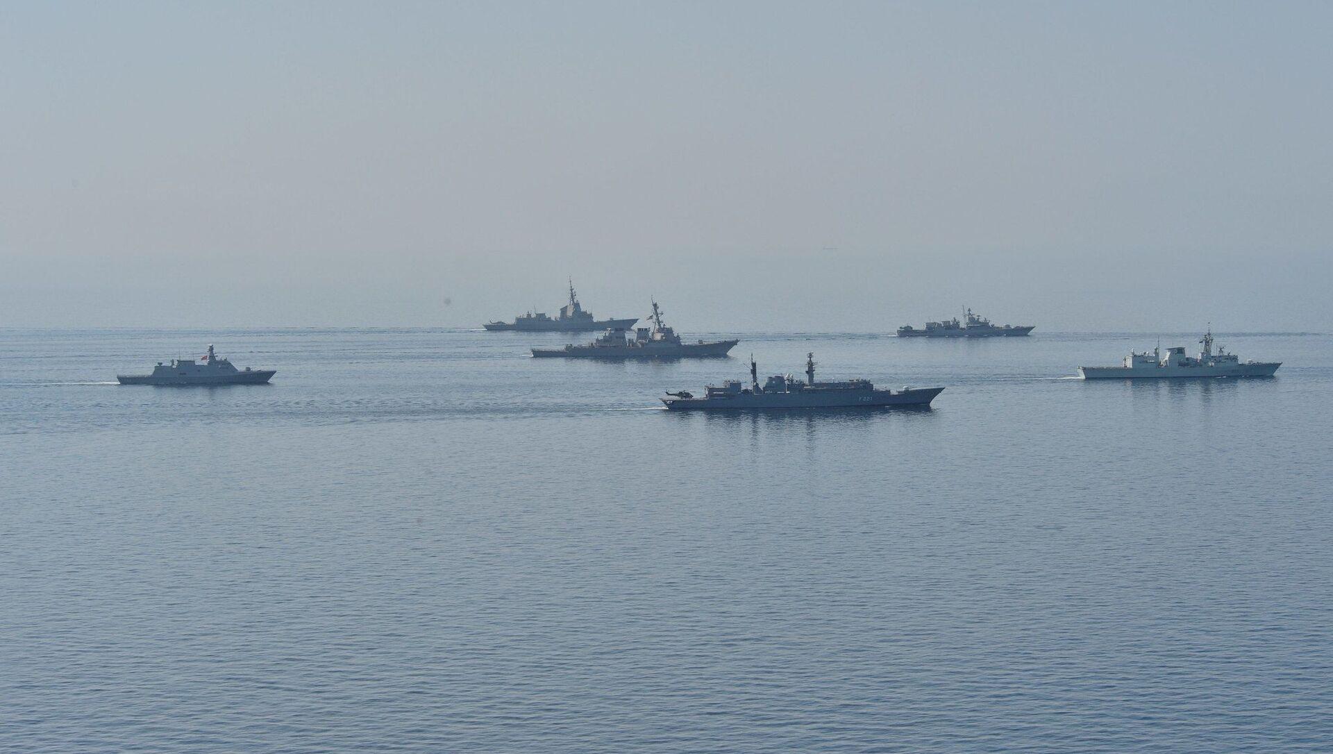 Бродови држава-чланица НАТО-а на војним вежбама на Црном мору - Sputnik Србија, 1920, 28.02.2021