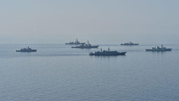 Бродови држава-чланица НАТО-а на војним вежбама на Црном мору - Sputnik Србија