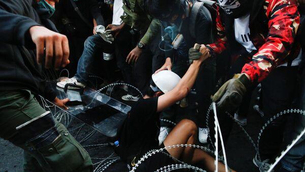 Протести у Бангкоку, Тајланд. - Sputnik Србија