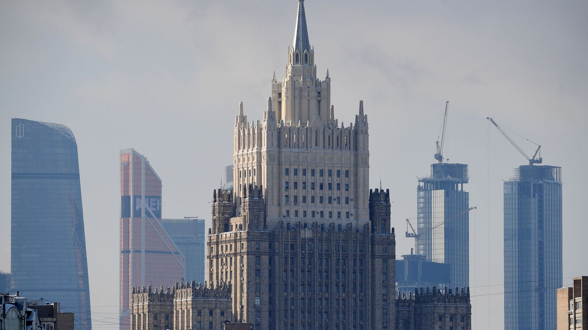 Зграда Министарства спољних послова Русије - Sputnik Србија, 1920, 01.03.2021