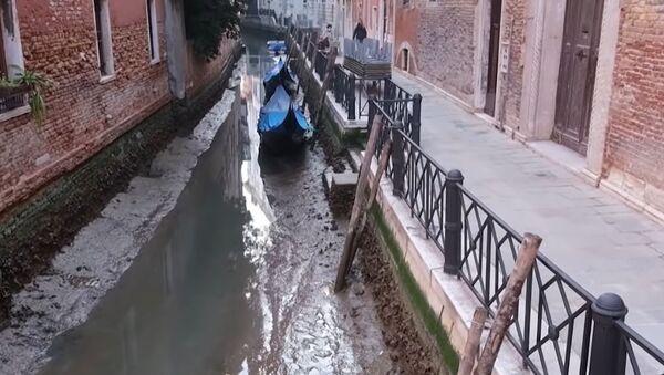 Presušili kanali u Veneciji - Sputnik Srbija