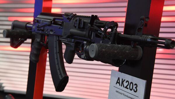 Ruski AK-203 - budućnost indijske vojske - Sputnik Srbija