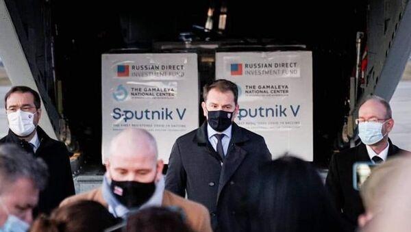 """Лидер Словачке националне странке: И ми смо допринели да се набави """"Спутњик Ве"""" - Sputnik Србија"""