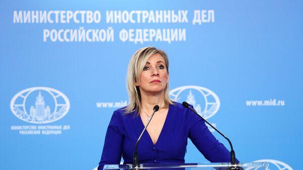 Захарова: За САД претња сви који су им конкуренција; Огромна подршка Запада несистемској опозицији - Sputnik Србија