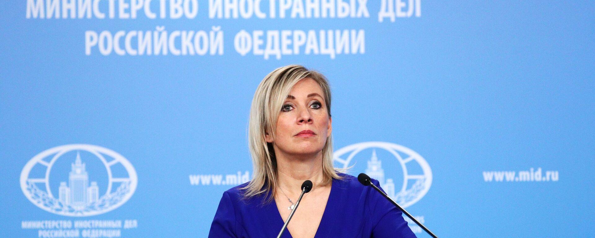 Захарова: За САД претња сви који су им конкуренција; Огромна подршка Запада несистемској опозицији - Sputnik Србија, 1920, 04.03.2021