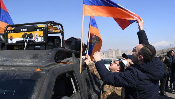Protesti u Jerevanu - Sputnik Srbija