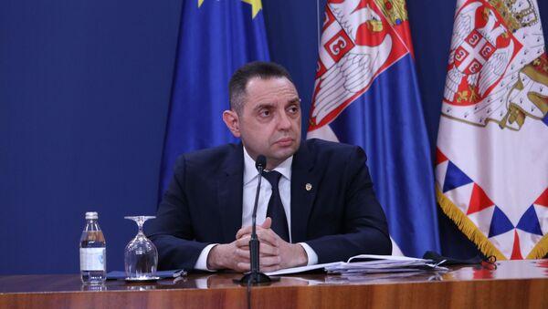 Ministar unutrašnjih poslova Srbije Aleksandar Vulin  - Sputnik Srbija