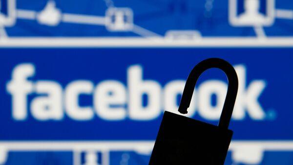 Лого друштвене мреже Фејсбук - Sputnik Србија