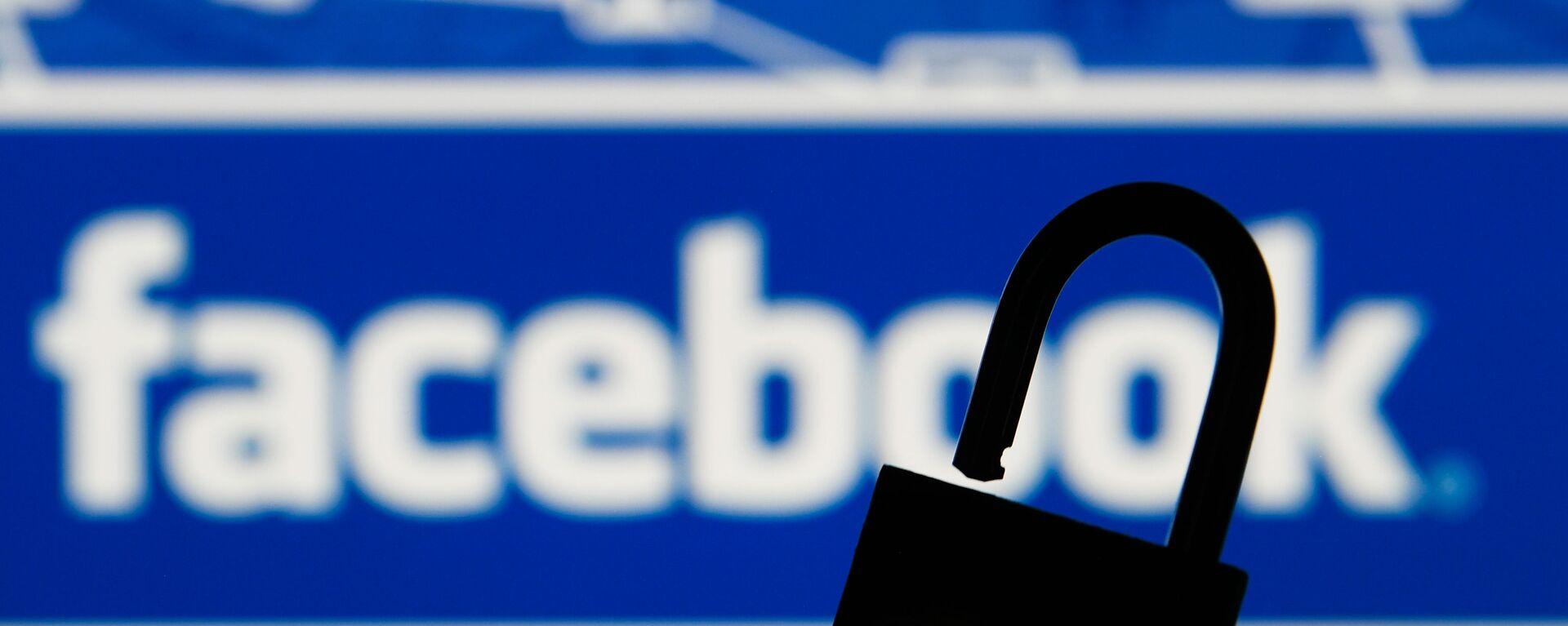 Logo društvene mreže Fejsbuk - Sputnik Srbija, 1920, 04.10.2021