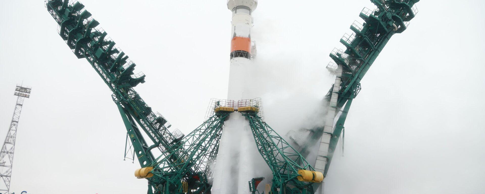 """Lansiranje """"Sojuza 2.1b"""" sa svemirskom letelicom """"Arktika M"""" - Sputnik Srbija, 1920, 15.09.2021"""