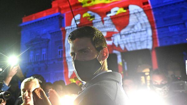 Новак Ђоковић у Београду, дан када је оборио рекорд по броју недеља на првом месту - Sputnik Србија