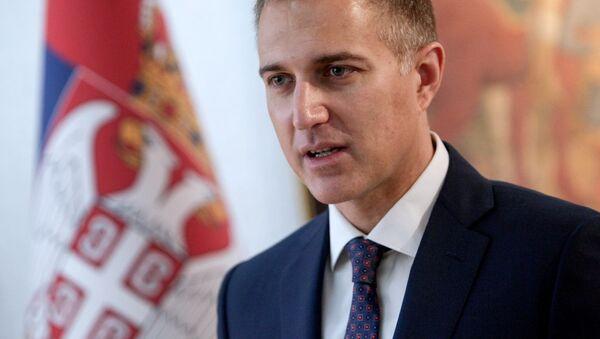 Ministar odbrane Nebojša Stefanović - Sputnik Srbija