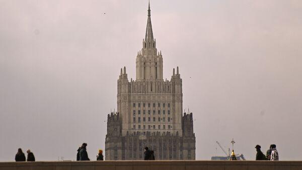 Zgrada Ministarstva spoljnih poslova Rusije u Moskvi - Sputnik Srbija