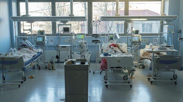 Kovid odeljenje Kliničko-bolničkog centra u Nišu - Sputnik Srbija