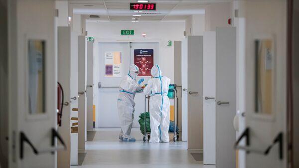 Ковид одељење Клиничко-болничког центра у Нишу - Sputnik Србија