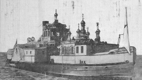 Пловећа црква Николаја Чудотворца - Sputnik Србија