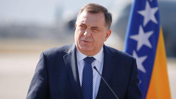 Српски члан и председавајући Председништва БиХ Милорад Додик - Sputnik Србија