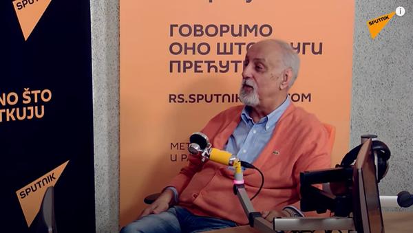 Vladimir Stanković, srpski novinar i publicista - Sputnik Srbija