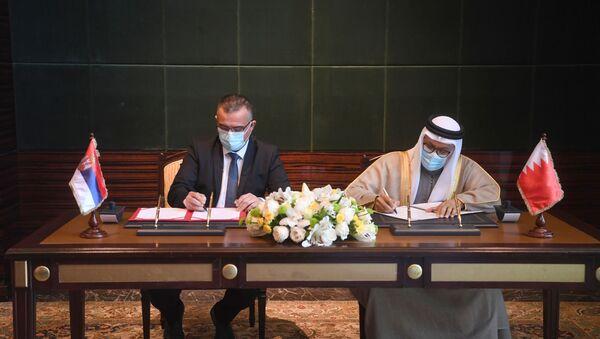Србија и Бахреин потписале су Меморандум о политичкој сарадњи министарстава спољних послова, као први споразум између две земље - Sputnik Србија