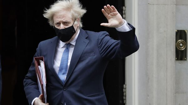 Britanski premijer Boris Džonson - Sputnik Srbija
