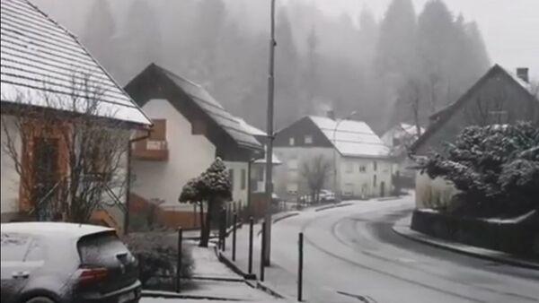 Sneg u Gorskim Kotarima - Sputnik Srbija