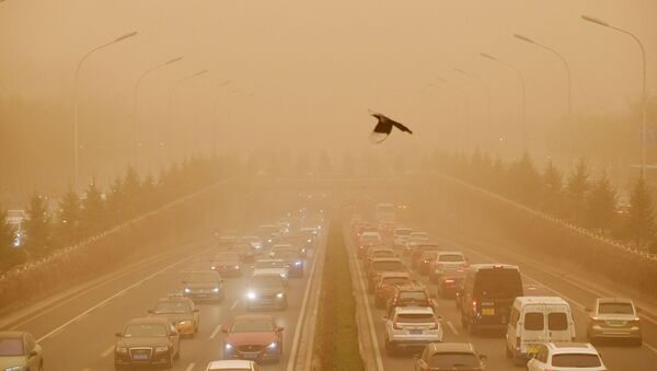 Пешчана олуја у Пекингу - Sputnik Србија