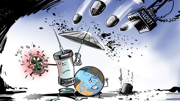 Медији против руске вакцине Спутњик Ве - Sputnik Србија
