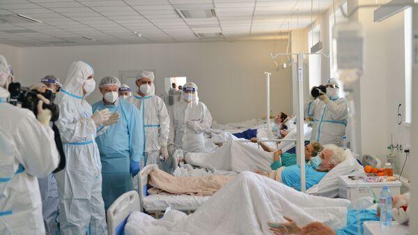 Ковид болница у Батајници - Sputnik Србија