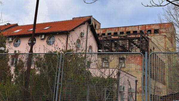 Prostor nekadašnje elektrane kod marine Dorćol koji će biti pretvoren u park - Sputnik Srbija