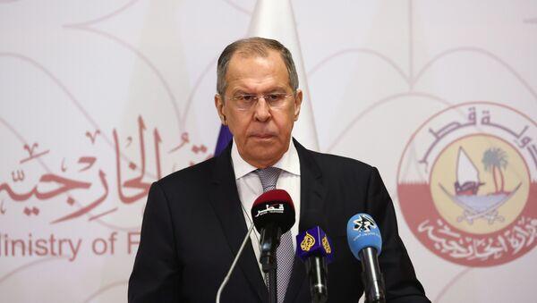 Sergej Lavrov u Kataru - Sputnik Srbija