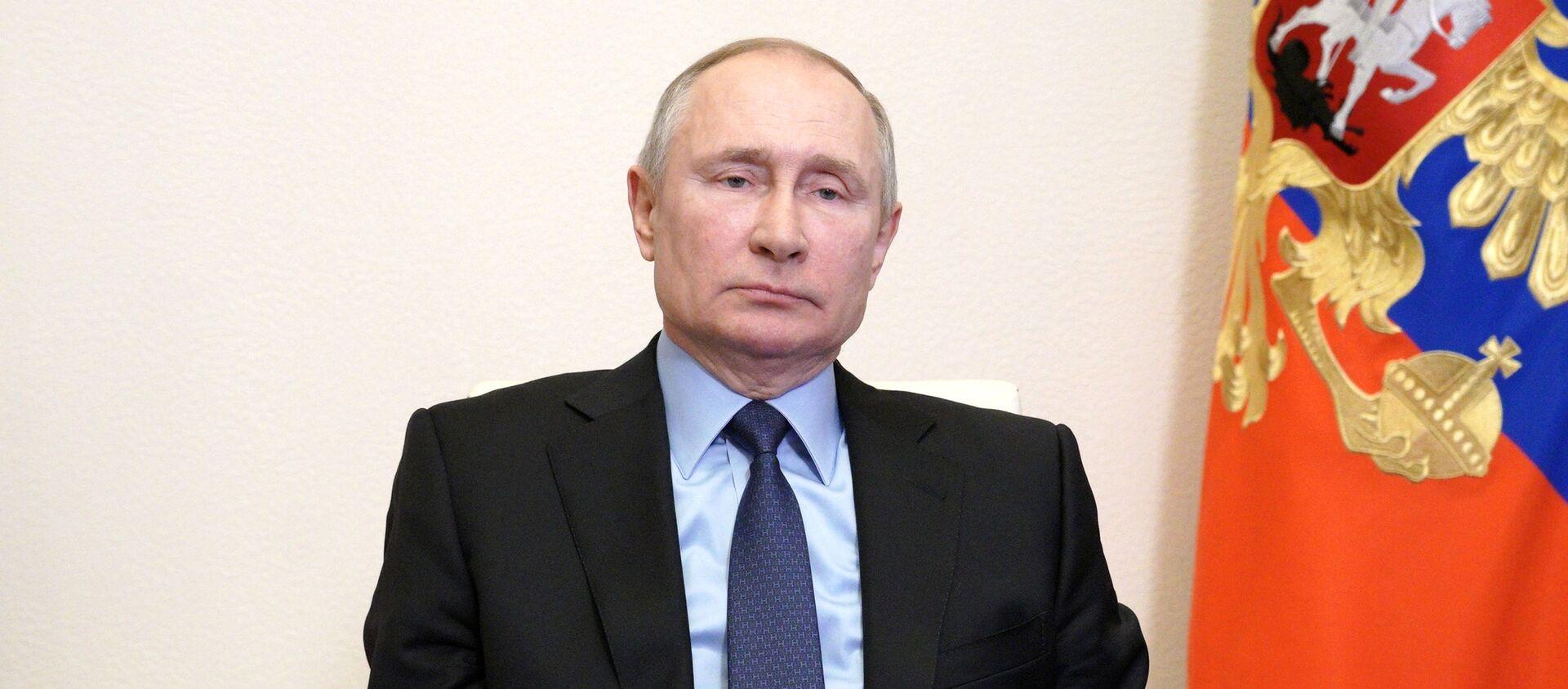 Председник Русије Владимир Путин - Sputnik Србија, 1920, 17.03.2021