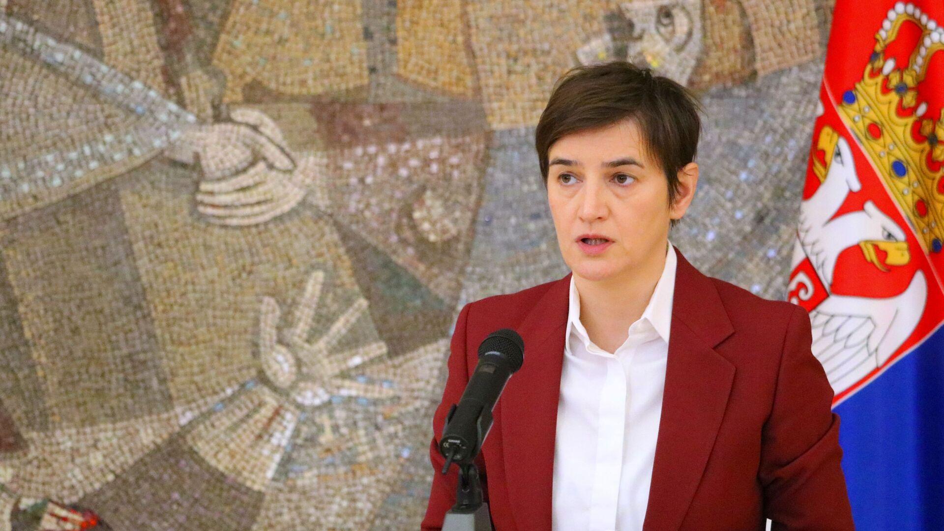 Ана Брнабић - Sputnik Србија, 1920, 27.09.2021