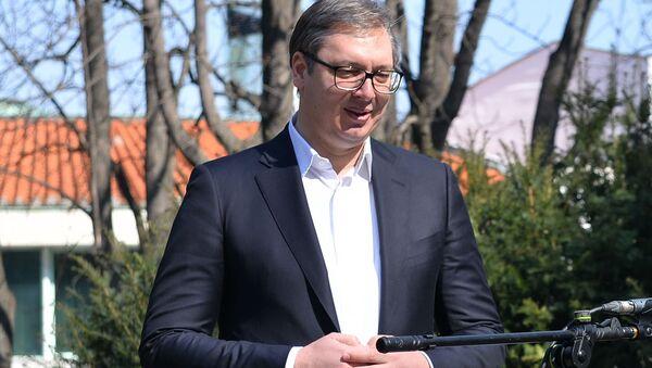 Aleksandar Vučić - Sputnik Srbija