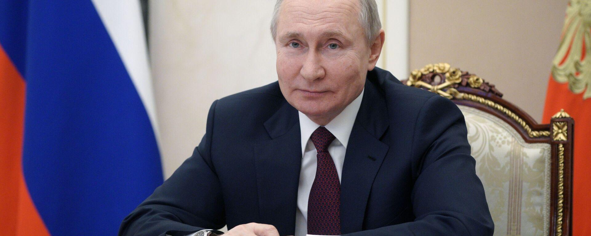 Председник Русије Владимир Путин - Sputnik Србија, 1920, 18.03.2021