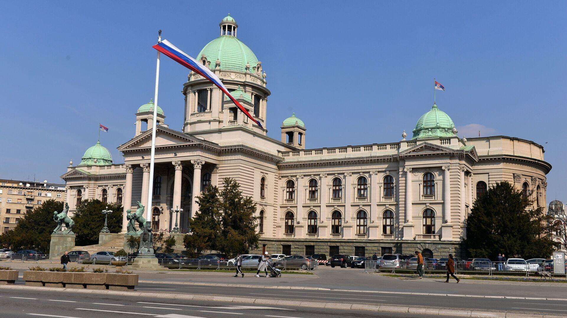 Dom Narodne skupštine Republike Srbije - Sputnik Srbija, 1920, 10.09.2021