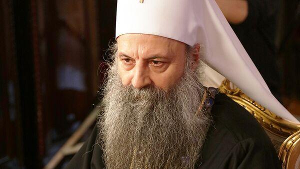 Поглавар СПЦ патријарх српски Порфирије - Sputnik Србија