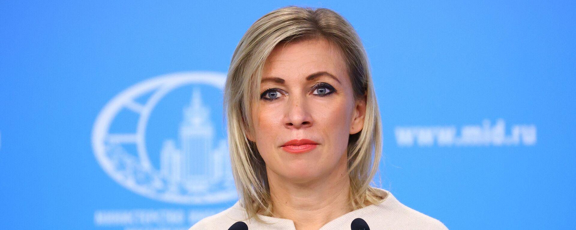 Portparolka Ministarstva spoljnih poslova Rusije Marija Zaharova - Sputnik Srbija, 1920, 18.03.2021