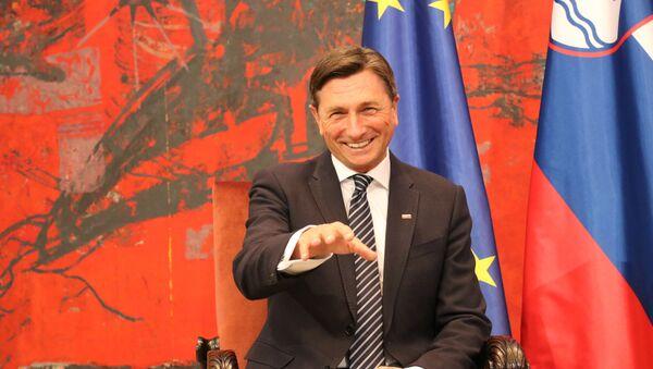 Predsednik Republike Slovenije Borut Pahor - Sputnik Srbija